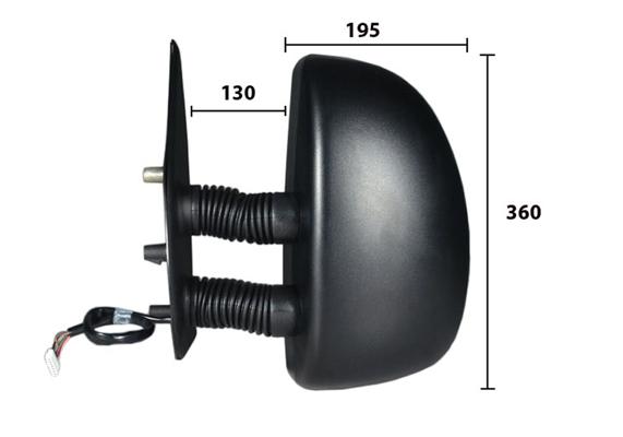Retroviseur exterieur complet SPILU 50611 (X1)