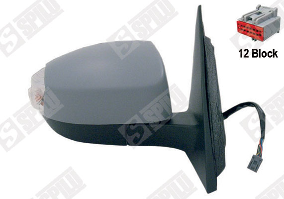 Retroviseur exterieur complet SPILU 54698 (X1)