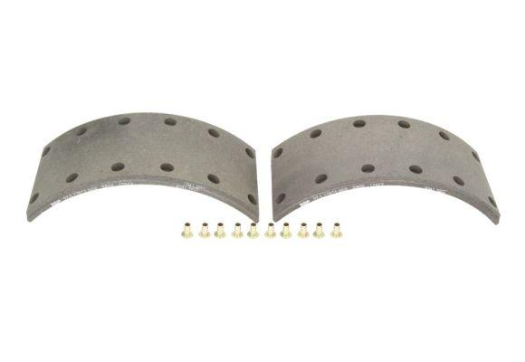 Kit de garnitures de frein (machoires)pour frein à tambour SBP 07-L17974-N00 (X1)