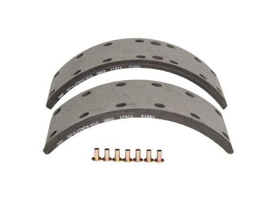 Kit de garnitures de frein (machoires)pour frein à tambour SBP 07-L17974-N10 (X1)