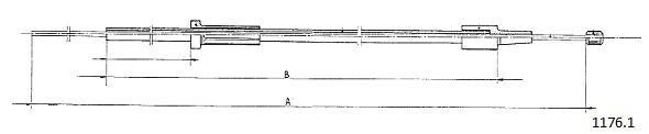 Cables de commande CABOR 1176.1 (X1)