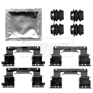 Kit de montage plaquettes de frein BORG & BECK BBK1518 (X1)