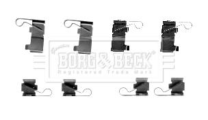 Kit de montage plaquettes de frein BORG & BECK BBK1585 (X1)