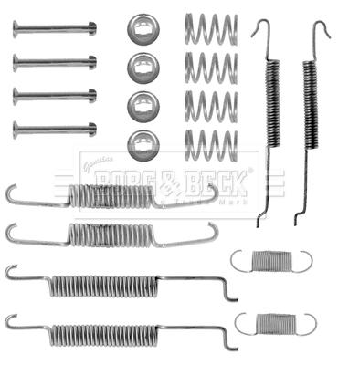 Kit de montage plaquettes de frein BORG & BECK BBK6099 (X1)