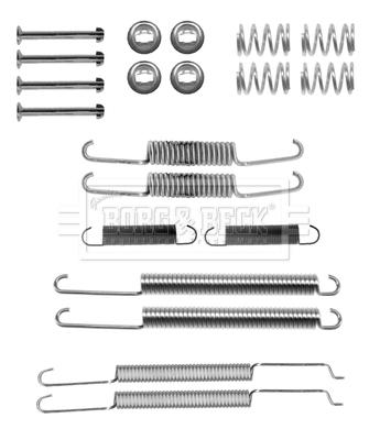 Kit de montage plaquettes de frein BORG & BECK BBK6267 (X1)