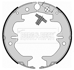 kit de frein arrière simple ou prémonté BORG & BECK BBS6411 (X1)