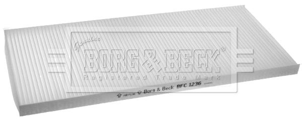 Filtre d'habitacle BORG & BECK BFC1236 (X1)