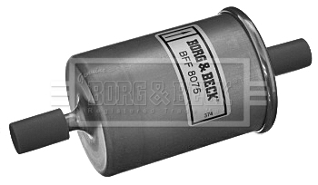 Filtre a carburant BORG & BECK BFF8075 (X1)