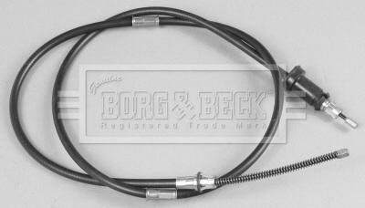 Cable de frein à main BORG & BECK BKB2391 (X1)