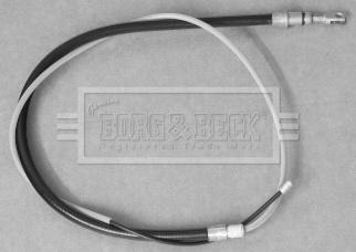 Cable de frein à main BORG & BECK BKB3207 (X1)