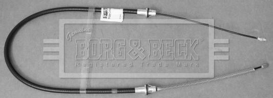 Cable de frein à main BORG & BECK BKB3441 (X1)