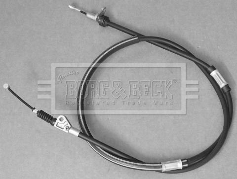 Cable de frein à main BORG & BECK BKB3546 (X1)