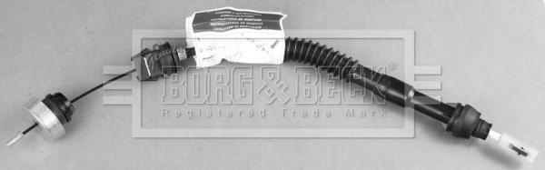 Borg and Beck BKC2080 C/âble dembrayage
