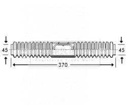Joints soufflets direction - crémaillère BORG & BECK BSG3216 (X1)
