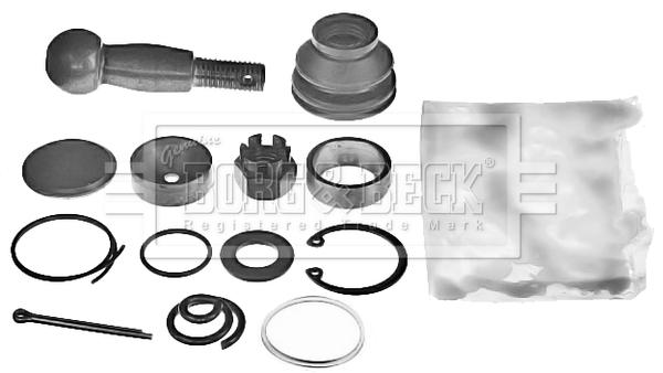 Kit de réparation boulon àrotule de barre de connexion BORG & BECK BSK6407 (X1)