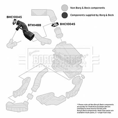 Freinage BORG & BECK BTH1488 (X1)