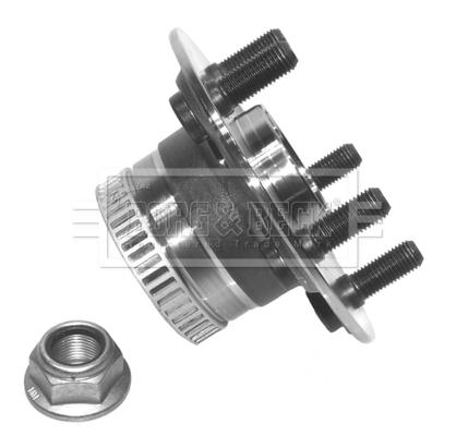 Roulement de roue BORG & BECK BWK1003 (X1)