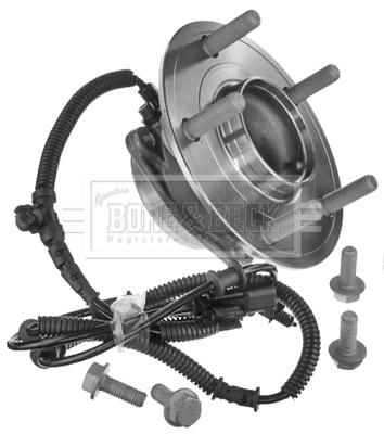 Roulement de roue BORG & BECK BWK1501 (X1)