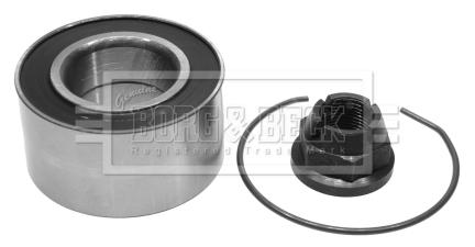 Roulement de roue BORG & BECK BWK939 (X1)