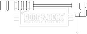 Temoin d'usure de frein BORG & BECK BWL3072 (X1)
