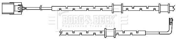 Temoin d'usure de frein BORG & BECK BWL3098 (X1)
