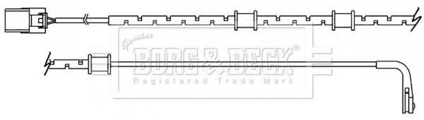 Temoin d'usure de frein BORG & BECK BWL3151 (X1)