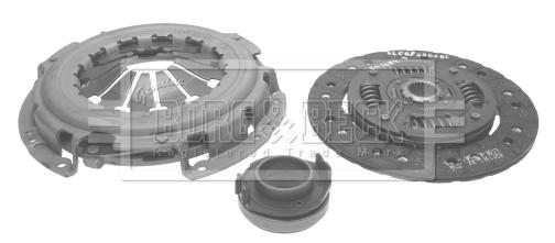 Kit d'embrayage BORG & BECK HK2106 (X1)