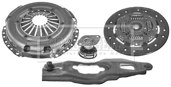 Kit d'embrayage BORG & BECK HK2777 (X1)