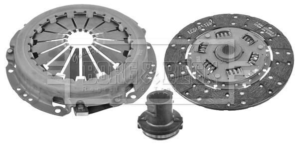 Kit d'embrayage BORG & BECK HK6076 (X1)