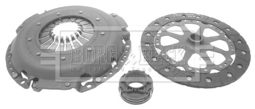 Kit d'embrayage BORG & BECK HK7550 (X1)