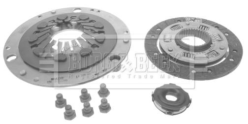 Kit d'embrayage BORG & BECK HK8150 (X1)
