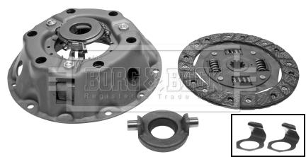 Kit d'embrayage BORG & BECK HK9683 (X1)