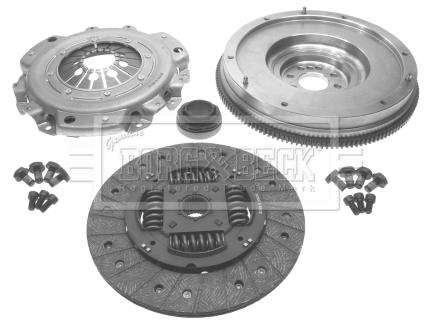 Autres pieces d'embrayage BORG & BECK HKF1007 (X1)