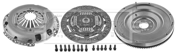 Autres pieces d'embrayage BORG & BECK HKF1073 (X1)