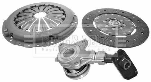 Kit d'embrayage BORG & BECK HKT1107 (X1)