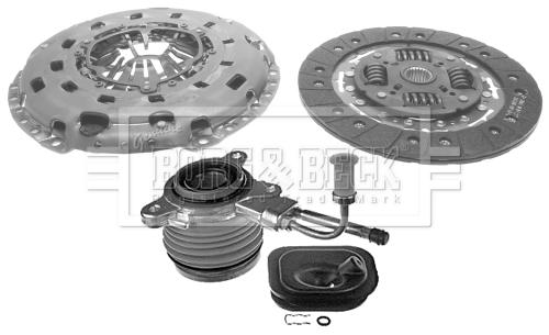Kit d'embrayage BORG & BECK HKT1442 (X1)