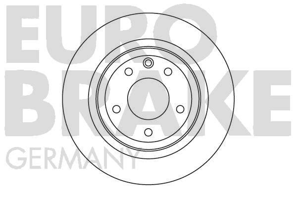 Disque de frein EUROBRAKE 5815201221 (X1)