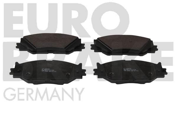 Plaquettes de frein avant EUROBRAKE 55022245102 (X1)