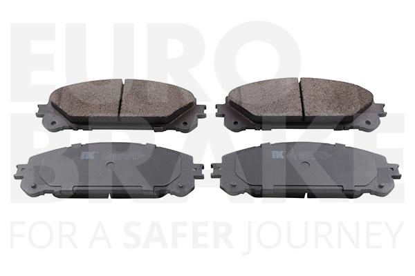 Plaquettes de frein avant EUROBRAKE 55022245107 (X1)