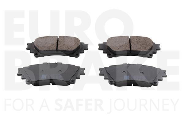 Kit de plaquettes de frein, frein à disque EUROBRAKE 55022245110 (X1)