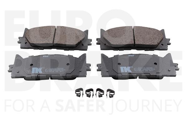 Plaquettes de frein avant EUROBRAKE 55022245113 (X1)