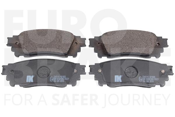 Kit de plaquettes de frein, frein à disque EUROBRAKE 55022245115 (X1)