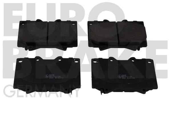 Plaquettes de frein EUROBRAKE 5502224548 (Jeu de 4)