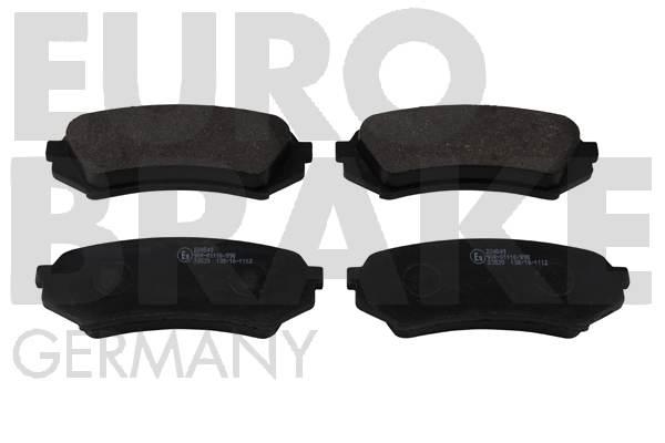 Kit de plaquettes de frein, frein à disque EUROBRAKE 5502224549 (Jeu de 4)