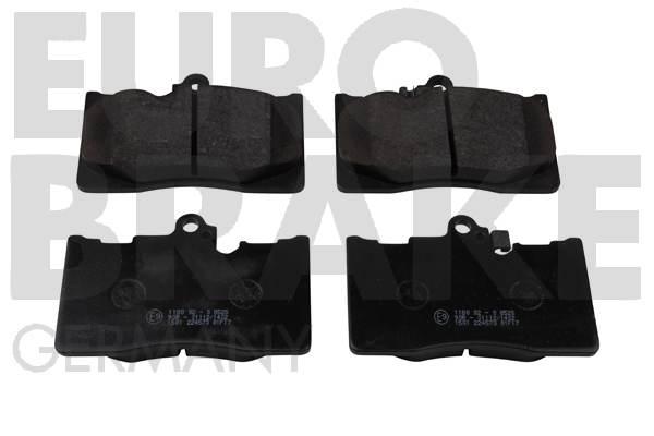 Plaquettes de frein avant EUROBRAKE 5502224573 (Jeu de 4)