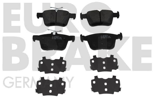 Plaquettes de frein EUROBRAKE 55022247114 (Jeu de 4)