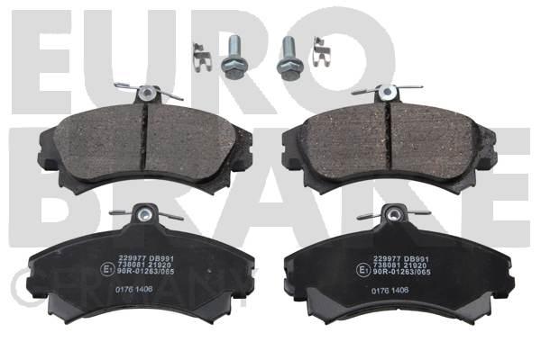 Plaquettes de frein EUROBRAKE 5502229977 (Jeu de 4)