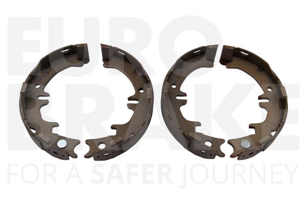 Jeu de mâchoires de frein de frein à main EUROBRAKE 58492745644 (X1)