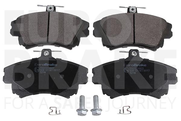 Plaquettes de frein avant EUROBRAKE 5502224822 (Jeu de 4)