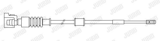 Temoin d'usure de frein JURID 581436 (Jeu de 2)